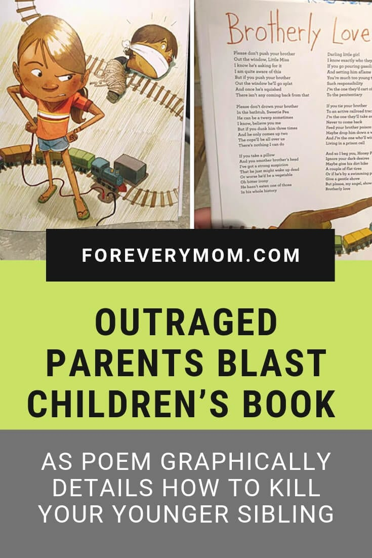 Outraged Parents Blast Children's Book as Poem Graphically