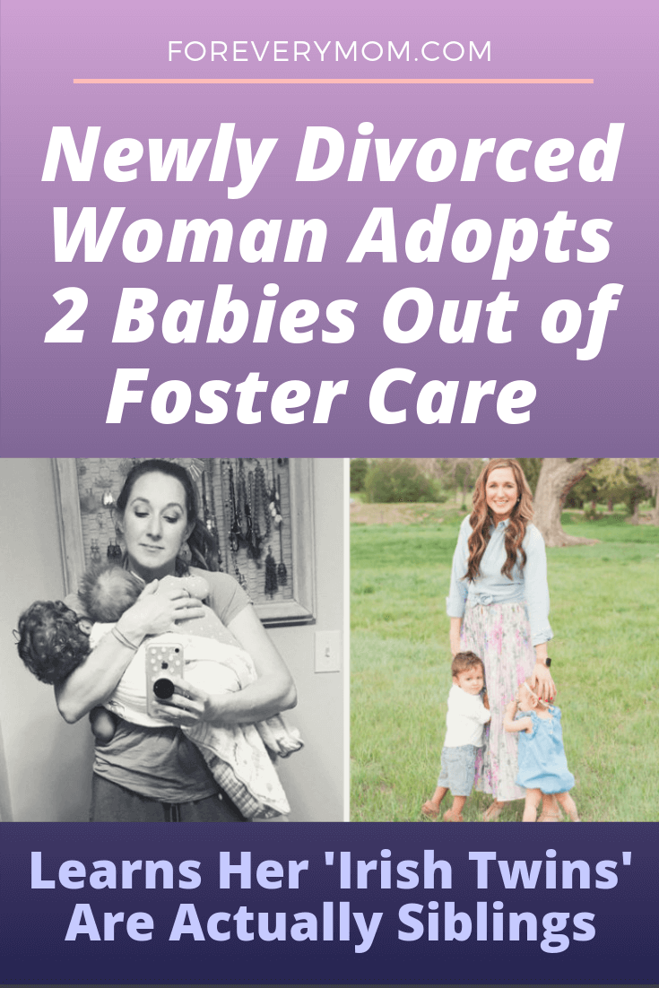 Newly Divorced Woman Adopts 2 Babies Out of Foster Care — Learns Her