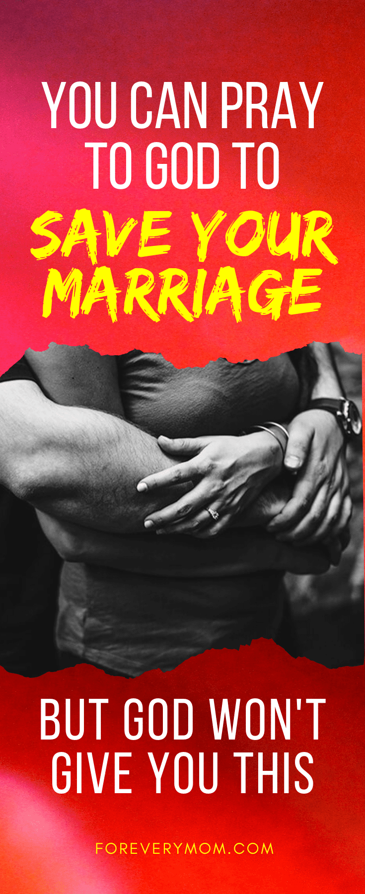 pray to save your marriage