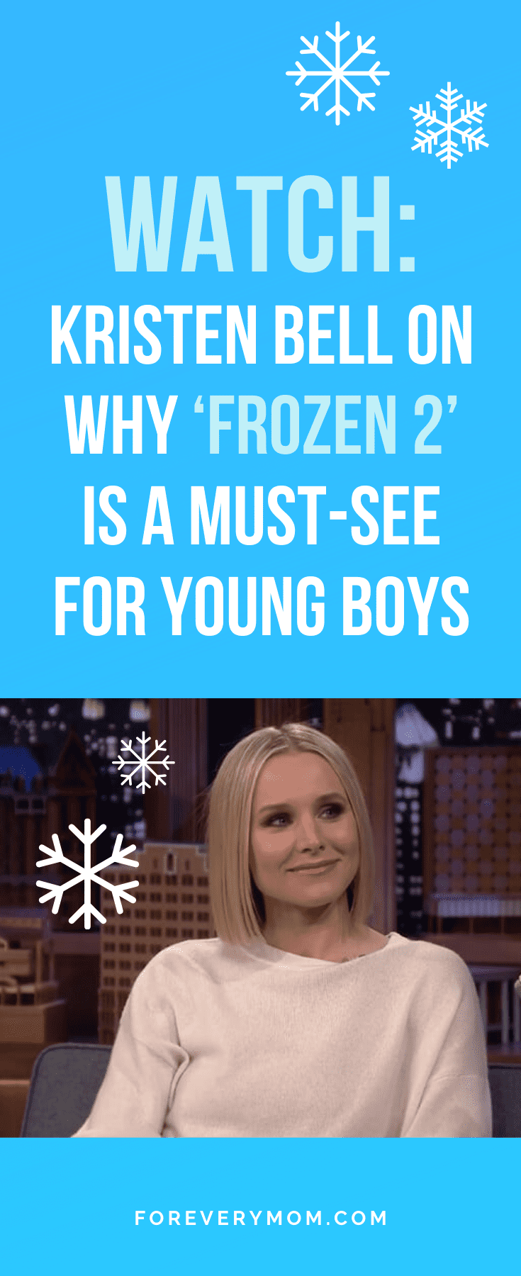 Kristen Bell Peed Pants While Pregnant, Thought Her Water