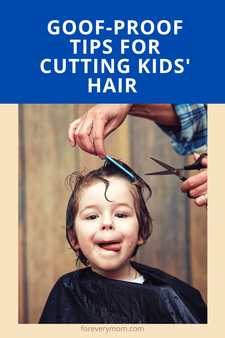 cutting your kid's hair