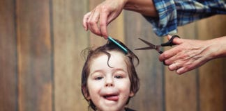 cutting your kids' hair