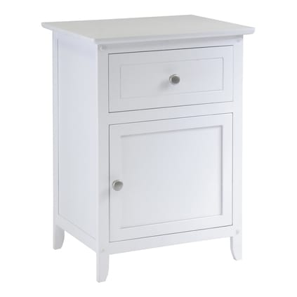 baby girl nursery night stand
