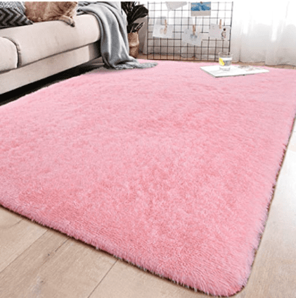 baby girl nursery ideas pink rug