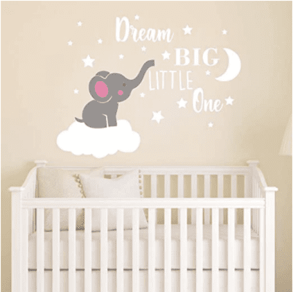baby girl nursery ideas elephant theme