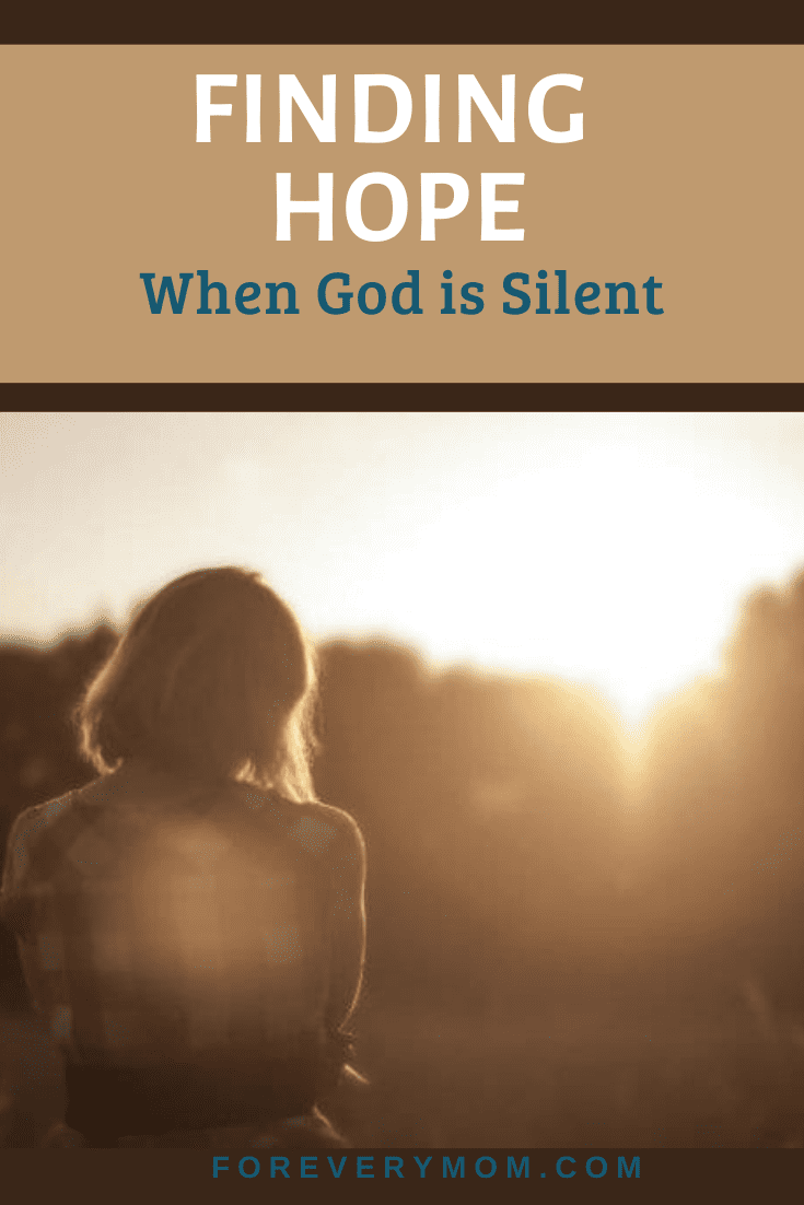 finding hope when god is silent