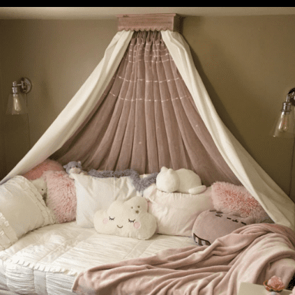 baby girl nursery ideas canopy