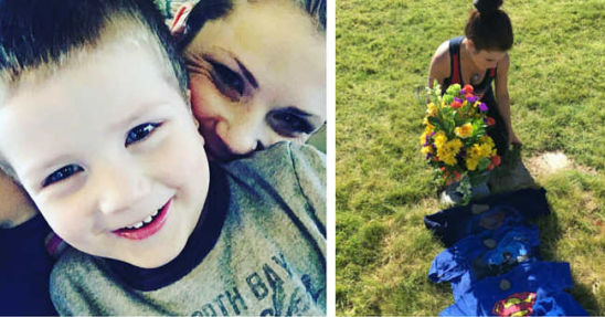 "Grieving Mom Who Lost 4-Year-Old Makes Heartbreaking Plea to Parents: ""Hold Your Babies Tight"""