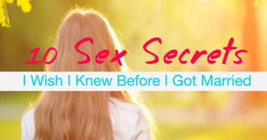 sex secrets marriage